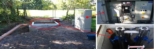 sewage ejection station