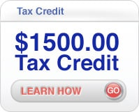 $1500 tax credit for plumbing services in Saratoga