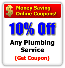 Save 10% off Any Plumbing Service