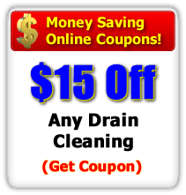 $15 off Any Drain Cleaning Service