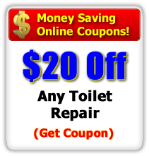 Save $20 off Any Toilet Repair
