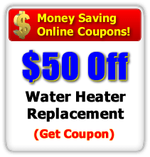 Save $50 off Any Water Heater Replacement