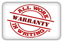Warranty in Writing Plumbing and Rooter Service